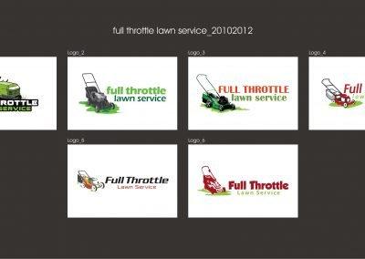 full throttle lawn service_logo